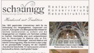 Pressetext – Handwerk mit Tradition