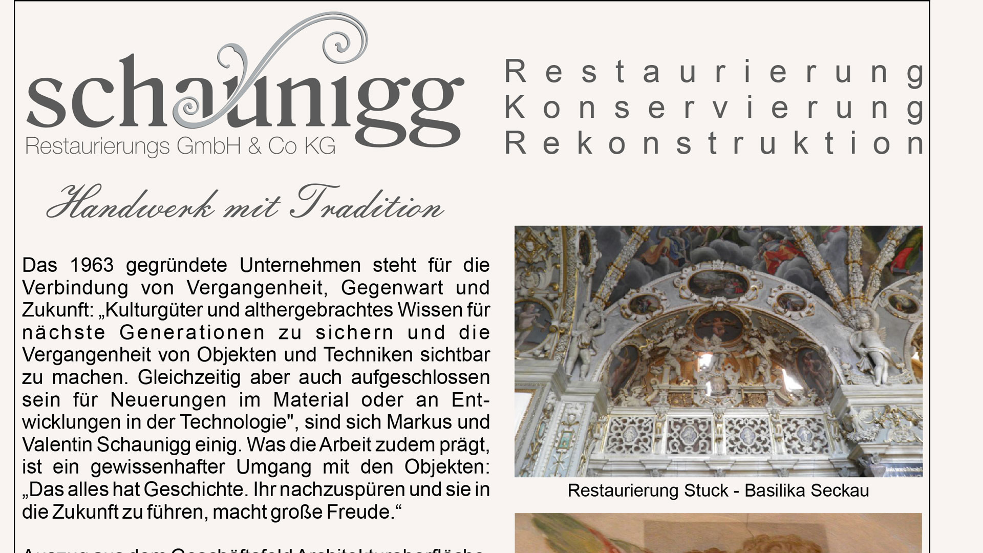 You are currently viewing Pressetext – Handwerk mit Tradition