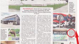 Arbeitseinsatz in Spielberg am Red-Bull-Ring (Kleine Zeitung)