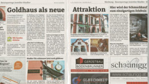 Rindler Baureportage (Hartberger Woche)
