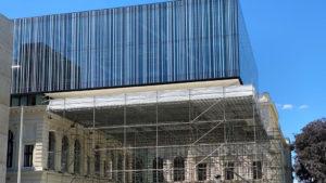 Sgraffito Universitätsbibliothek Graz (Kleine Zeitung)